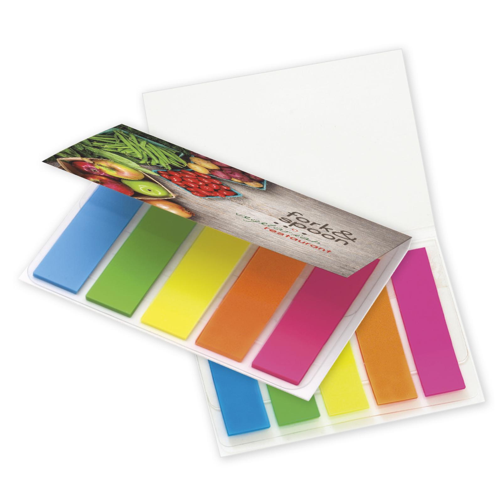 BIC Mylar Flag Booklet - Full Colour Imprint, #MFB