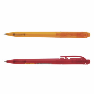 Promo Click Ice Ballpoint Pen - 1 Colour Imprint