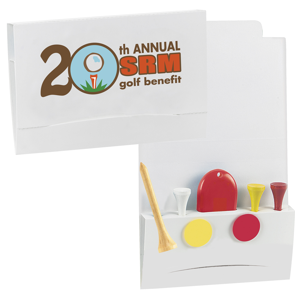 4-2-1 Golf Tee Value Packet w/ 2 1/8