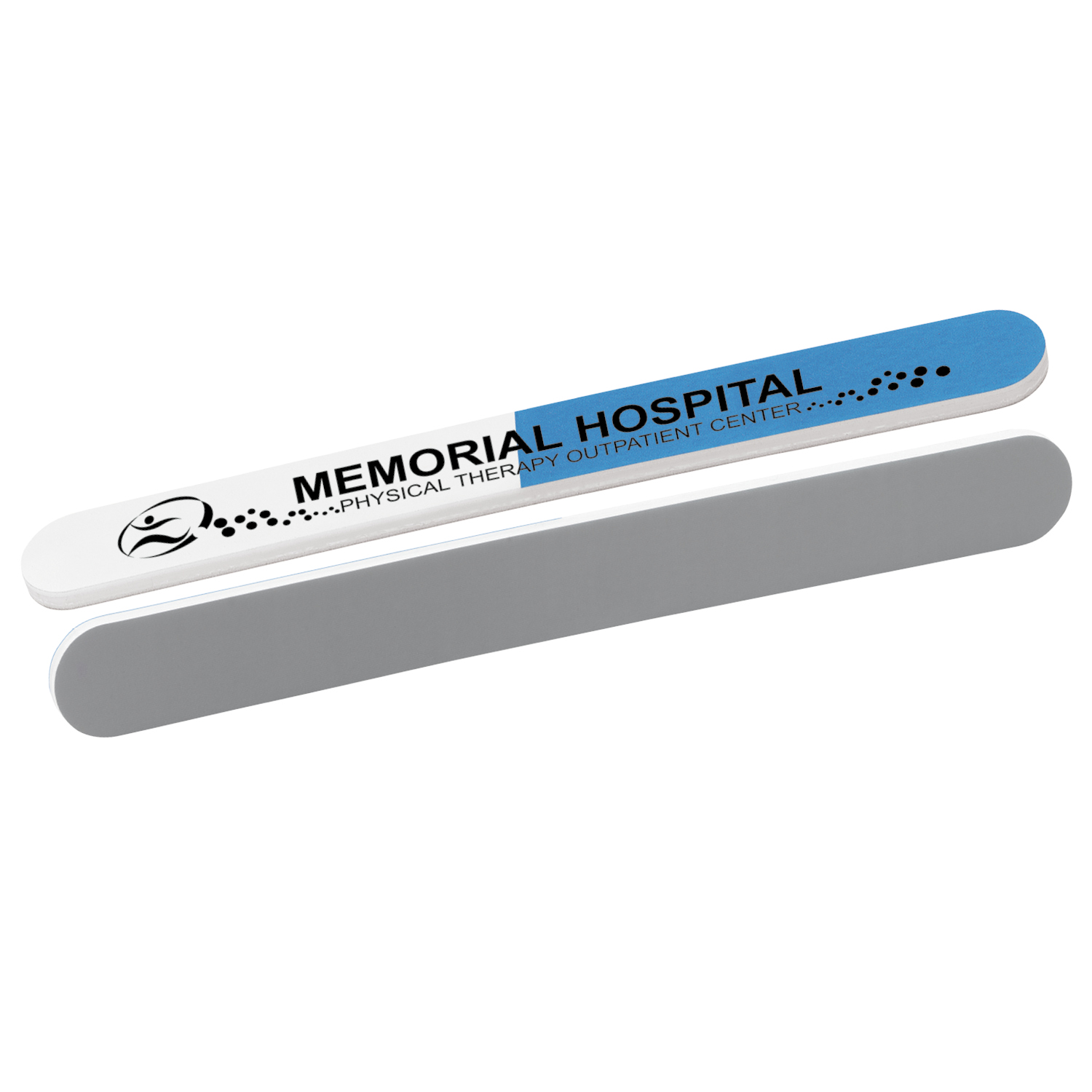 3 Way Emery Board - 1 Colour Imprint, #40419