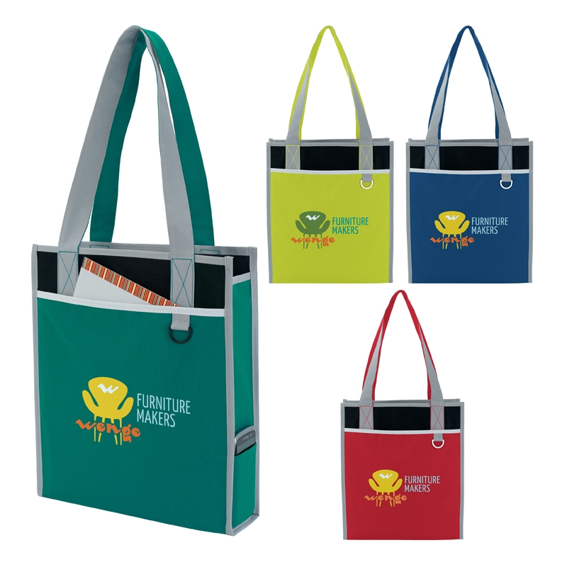 Atchison Convention All Tote Bag - 1 Colour Imprint