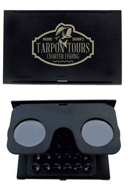 Foldable VR Glasses w/ Suction Phone Holder - 1 Colour Imprint