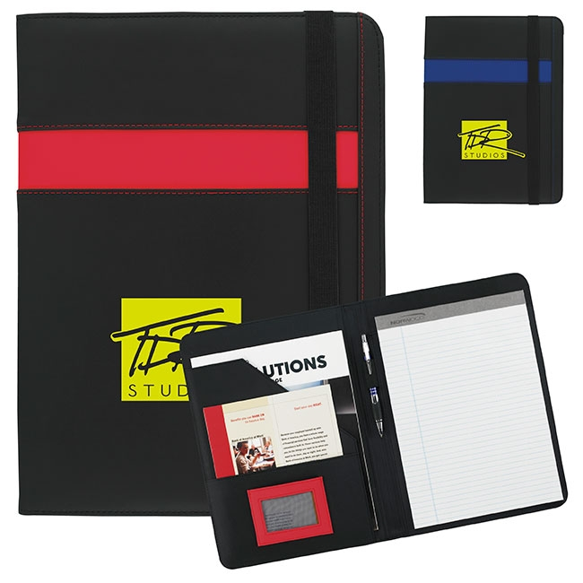 Underline Padfolio - 1 Colour Imprint