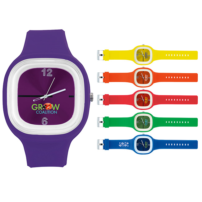 Hip To Be Square Watch - 1 Colour Imprint
