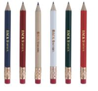 Round Golf Pencil w/Eraser, #62512, 1 Colour Imprint