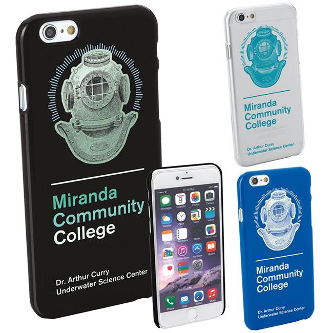Phone Hard Case6 - 1 Colour Imprint