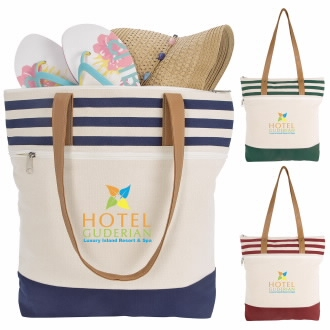 Atchison Cora Lane Cotton Tote Bag - 1 Colour Imprint