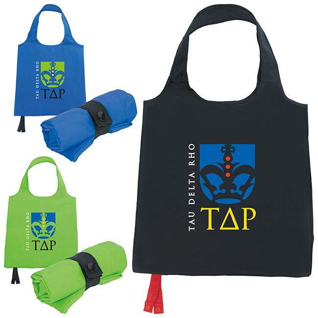 Reusable Foldable Tote Bag - 1 Colour Imprint