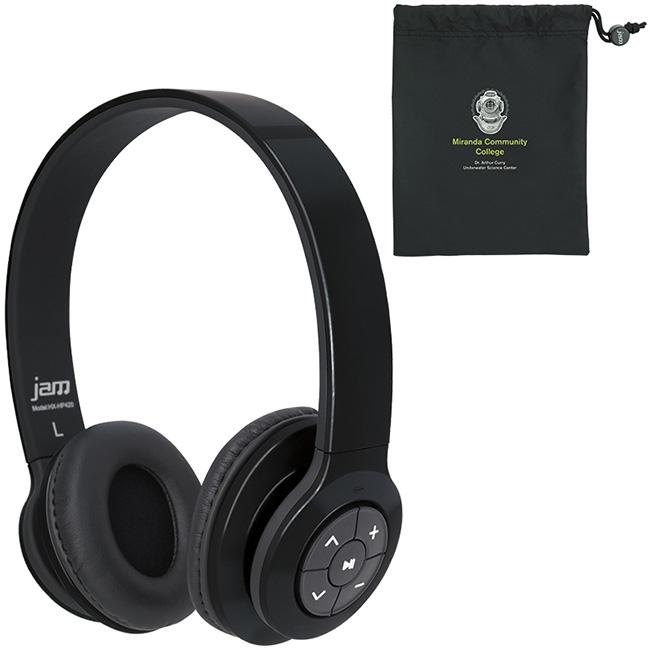 Jam Transit Bluetooth Headphones - 1 Colour Imprint