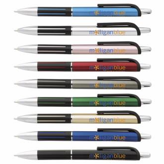 Ribbon Ballpoint Pen - 1 Colour Imprint