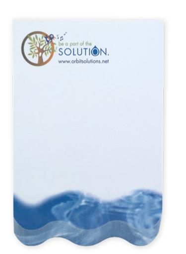BIC Ecolutions Beveled Notepad (4