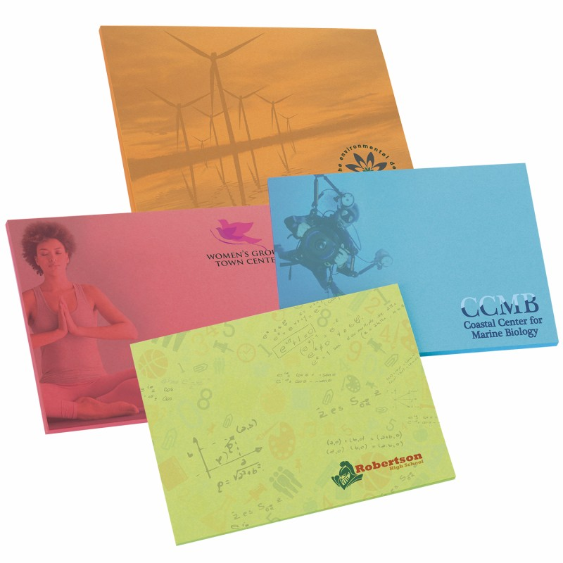 BIC 25 Sheet Bright Colored Paper Adhesive Notepad (4