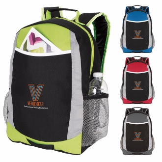 Atchison Primary Sport Backpack - 1 Colour Imprint