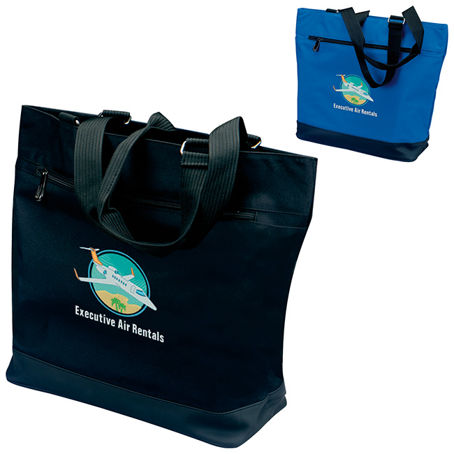 Plaza Tote Bag - 1 Colour Imprint, #15117
