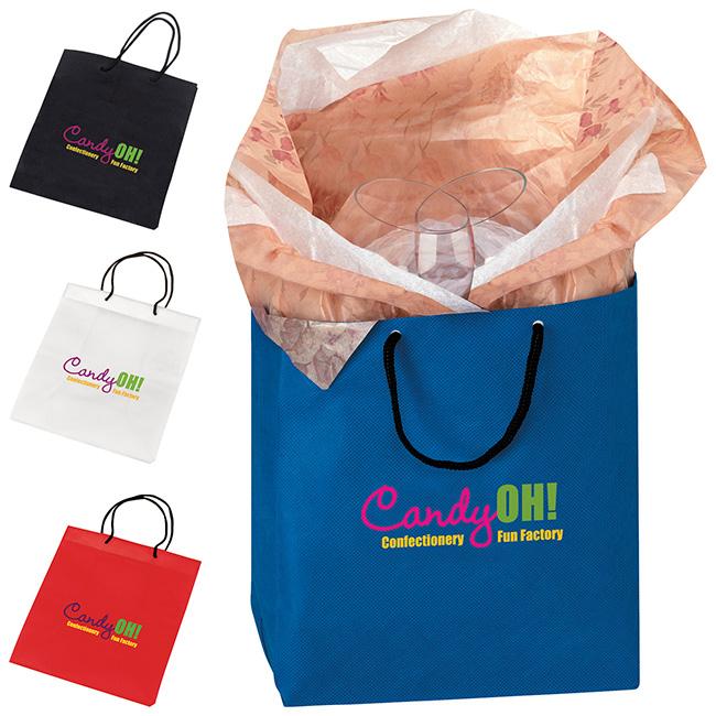 Non-Woven Gift Bag - 1 Colour Imprint