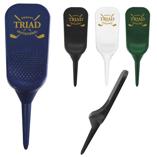 One Prong Divot Tool, #62513, 1 Colour Imprint