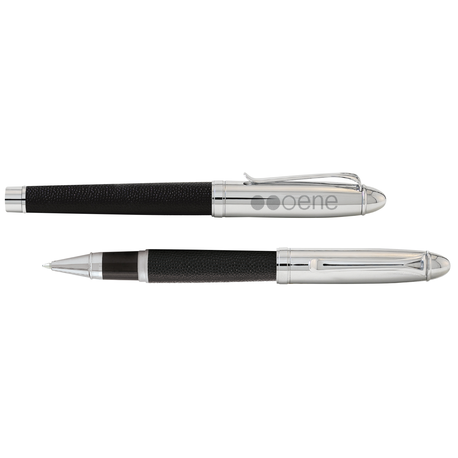 BIC Select Leather Roller Ball Pen - Laser Engraved Imprint, #LR