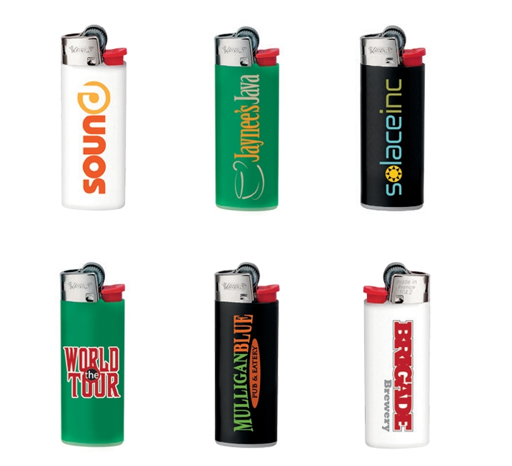 BIC J25 Mini Lighter - 1 Colour Imprint