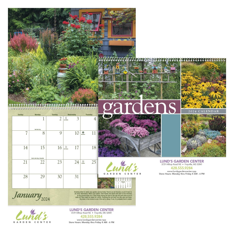 Triumph Gardens Appointment Calendar, #1251, 1 Colour Imprint