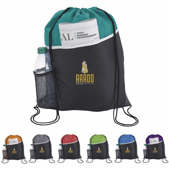Atchison ActiV Drawstring Backpack - 1 Colour Imprint