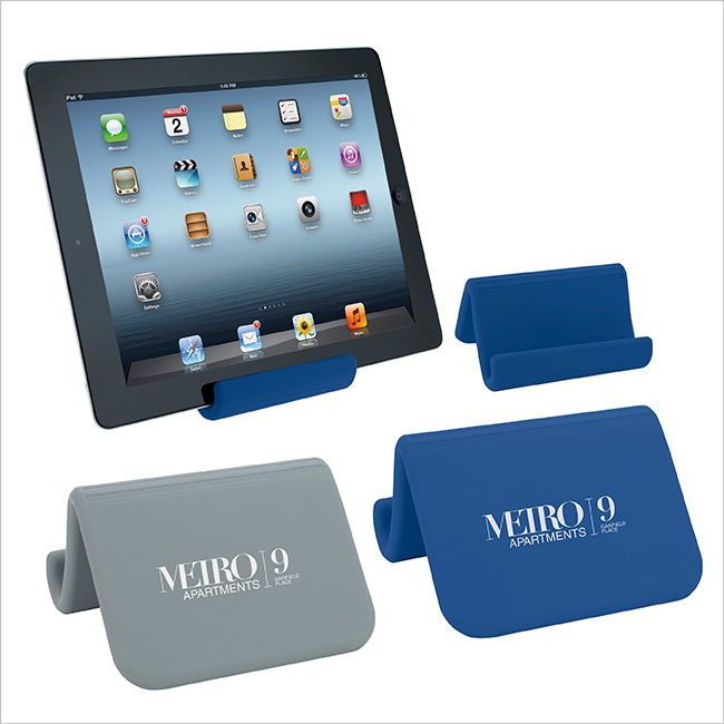 Silicone Bendable Tablet Stand - 1 Colour Imprint