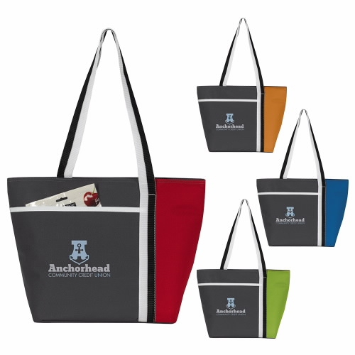 Atchison Calling All Stripes Cooler Tote - 1 Colour Imprint