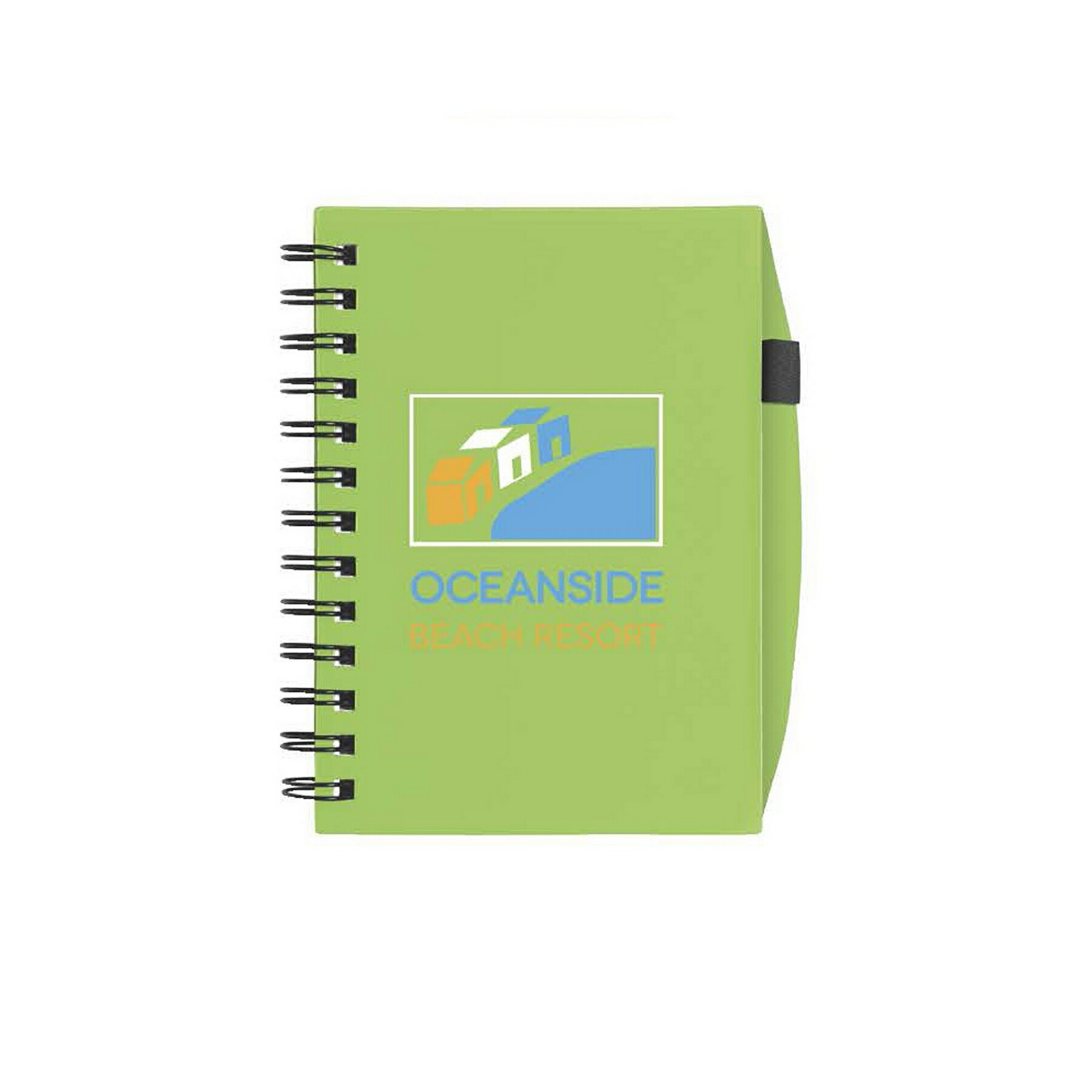 BIC Plastic Cover Notebook - 1 Colour Imprint