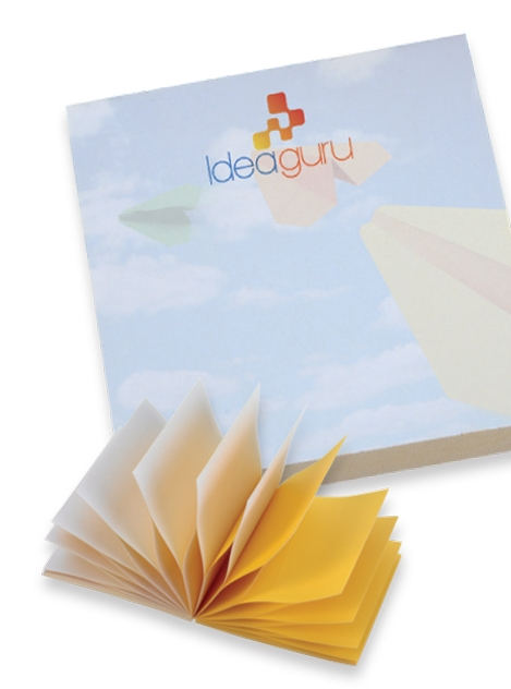 BIC 100 Sheet Spring Notes Adhesive Notepad (3