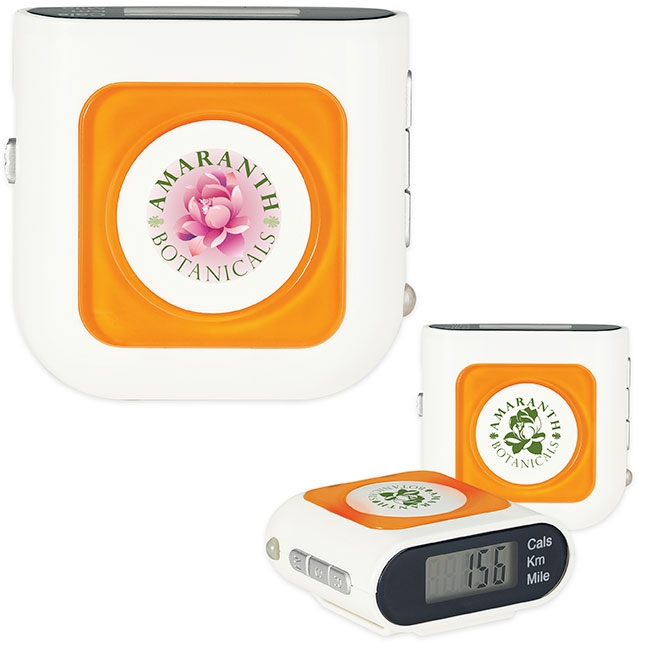 Safety Pedometer - 1 Colour Imprint