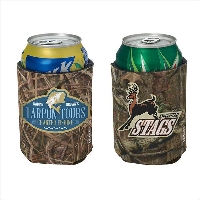 Koozie Mossy Oak britePix Can Kooler - Full Colour Imprint, #46049