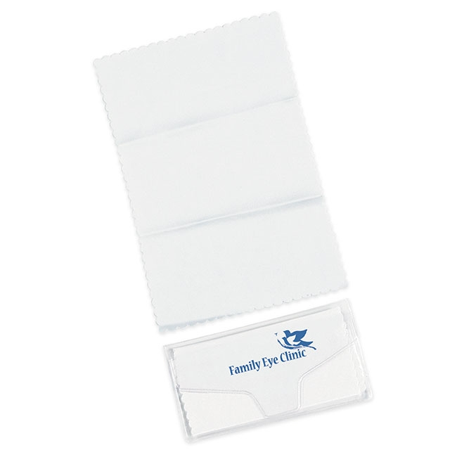 Microfiber Lens Cloth - 1 Colour Imprint