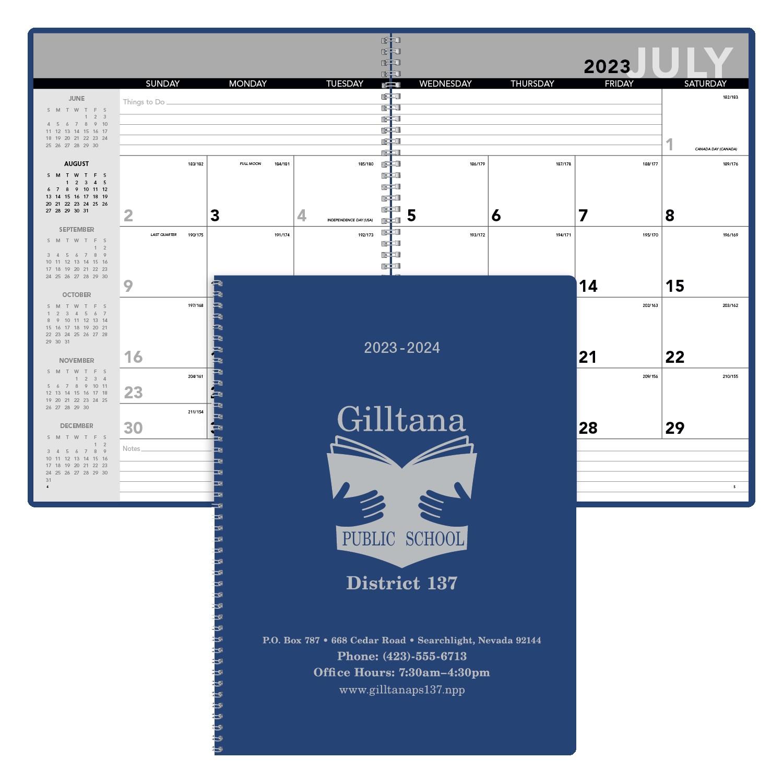 Triumph Academic Monthly Planner, #8153, 1 Colour Imprint