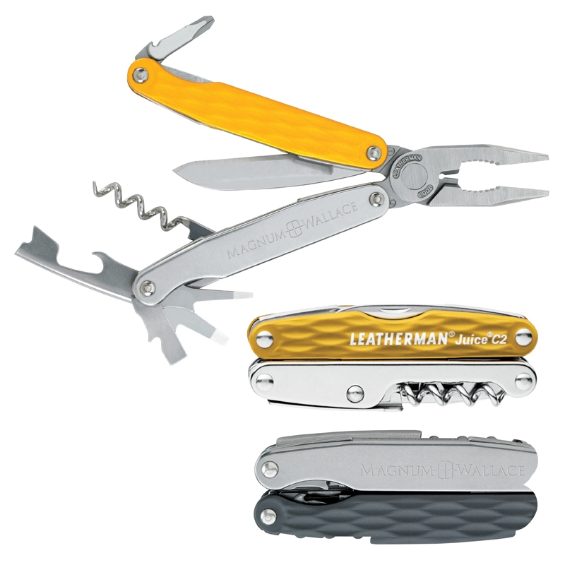 Leatherman Juice C2 Multi-Tool - Laser Engraved Imprint