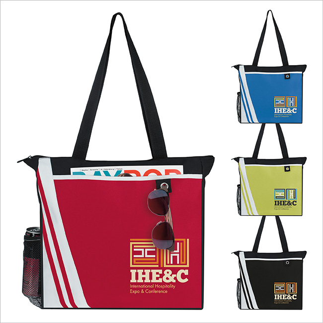 Atchison Winners Take All Tote Bag - 1 Colour Imprint