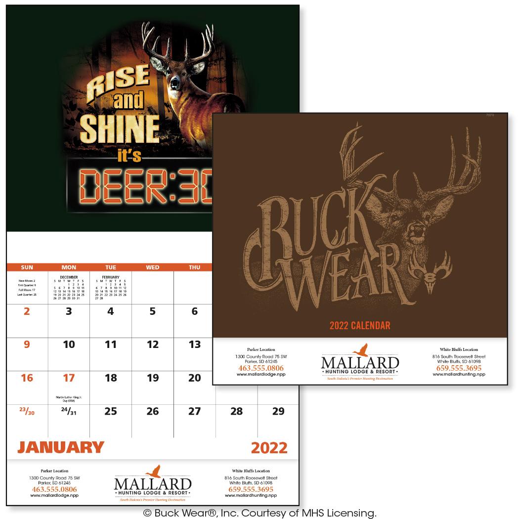 Buck Wear Calendar (11