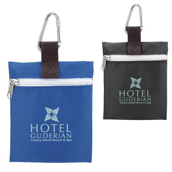GoodValue Vertical Strap Tee Pouch, #62251, 1 Colour Imprint