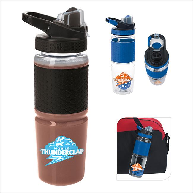 24 Oz. Cool Gear Shaker Bottle, #46041, 1 Colour Imprint