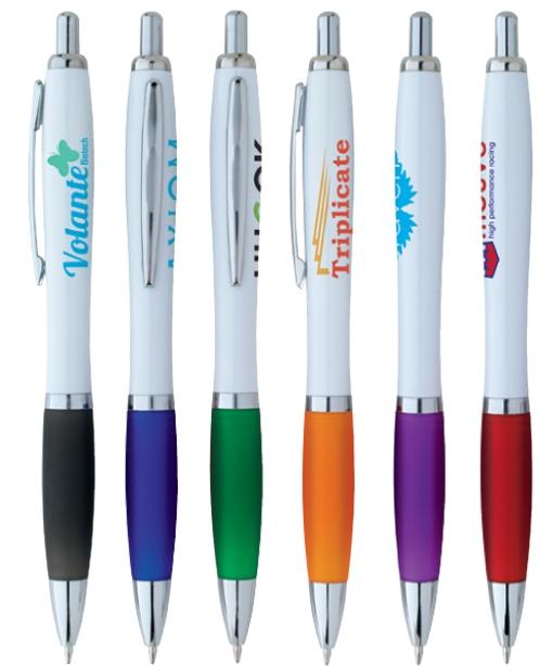 Ion White Pen - 1 Colour Imprint