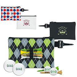 Pattern Golf Pouch Event Golf Kit w/Titleist DT TruSoft Golf Balls, #62342, 1 Colour Imprint