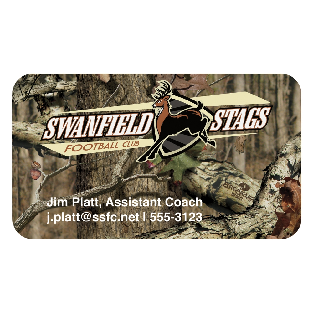 Mossy Oak BIC 20 Mil 4 Color Business Card Magnet - Full Colour Imprint