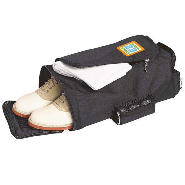 Golfer's Travel Shoe Bag - 1 Colour Imprint, #60459