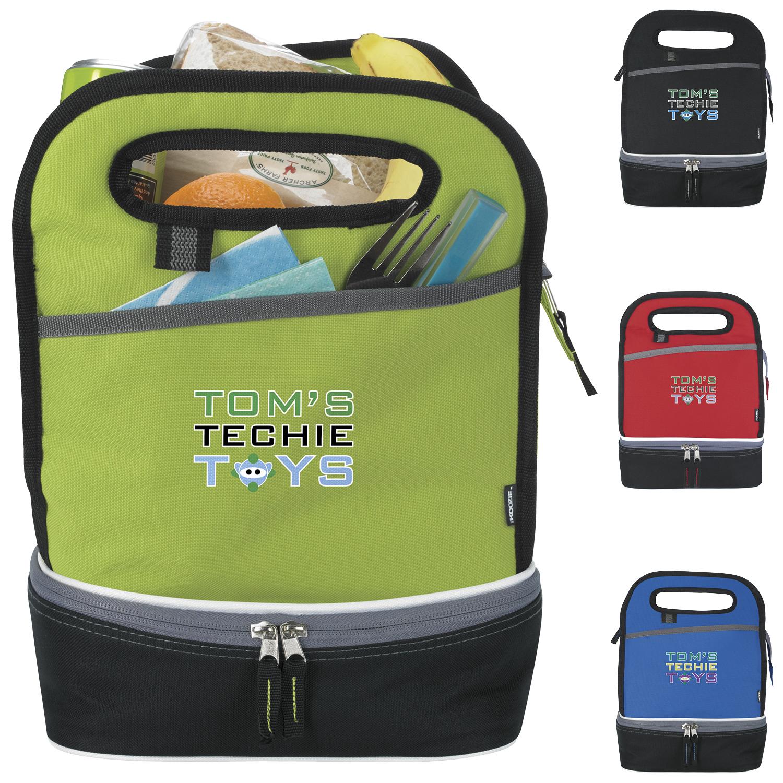 Koozie Duplex Lunch Kooler Bag - 1 Colour Imprint