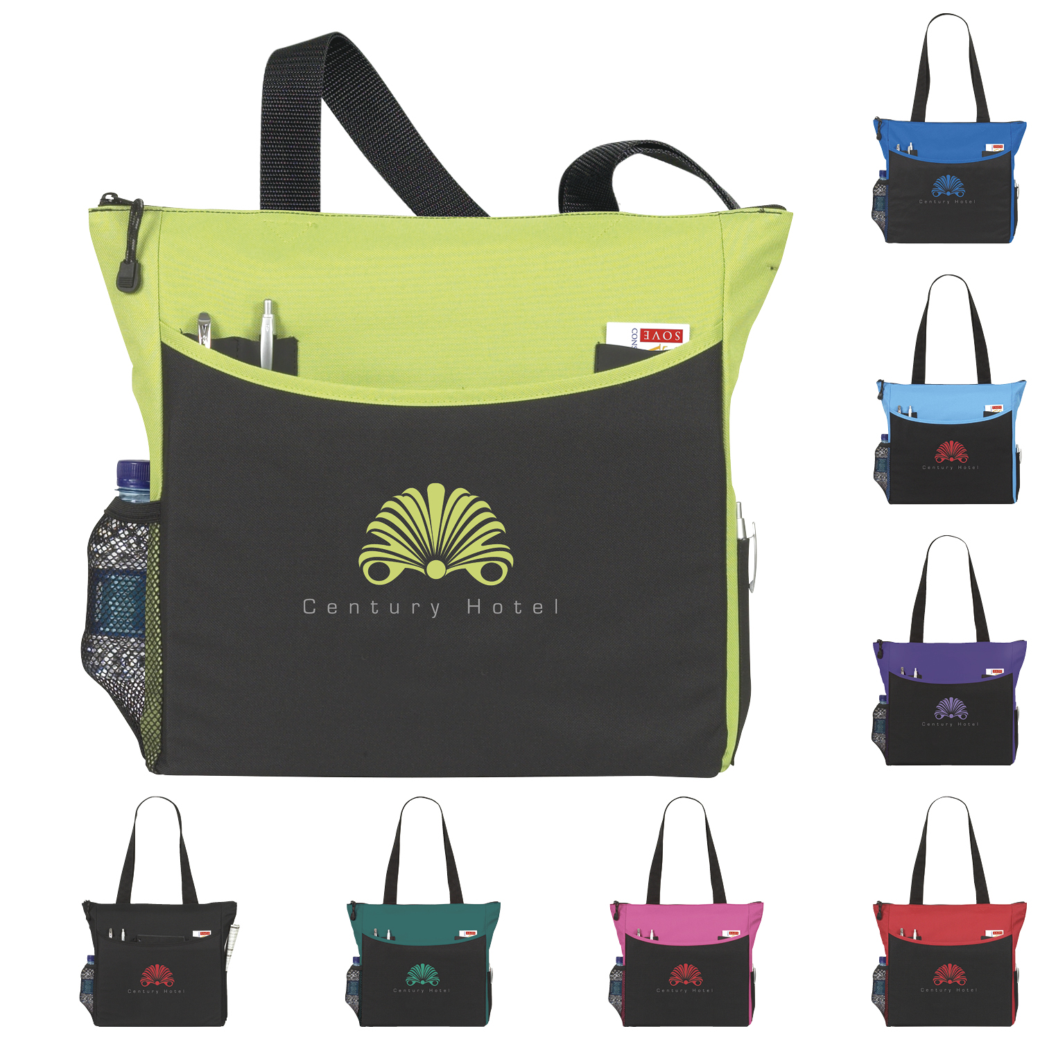 Atchison TranSport It Tote Bag - 1 Colour Imprint