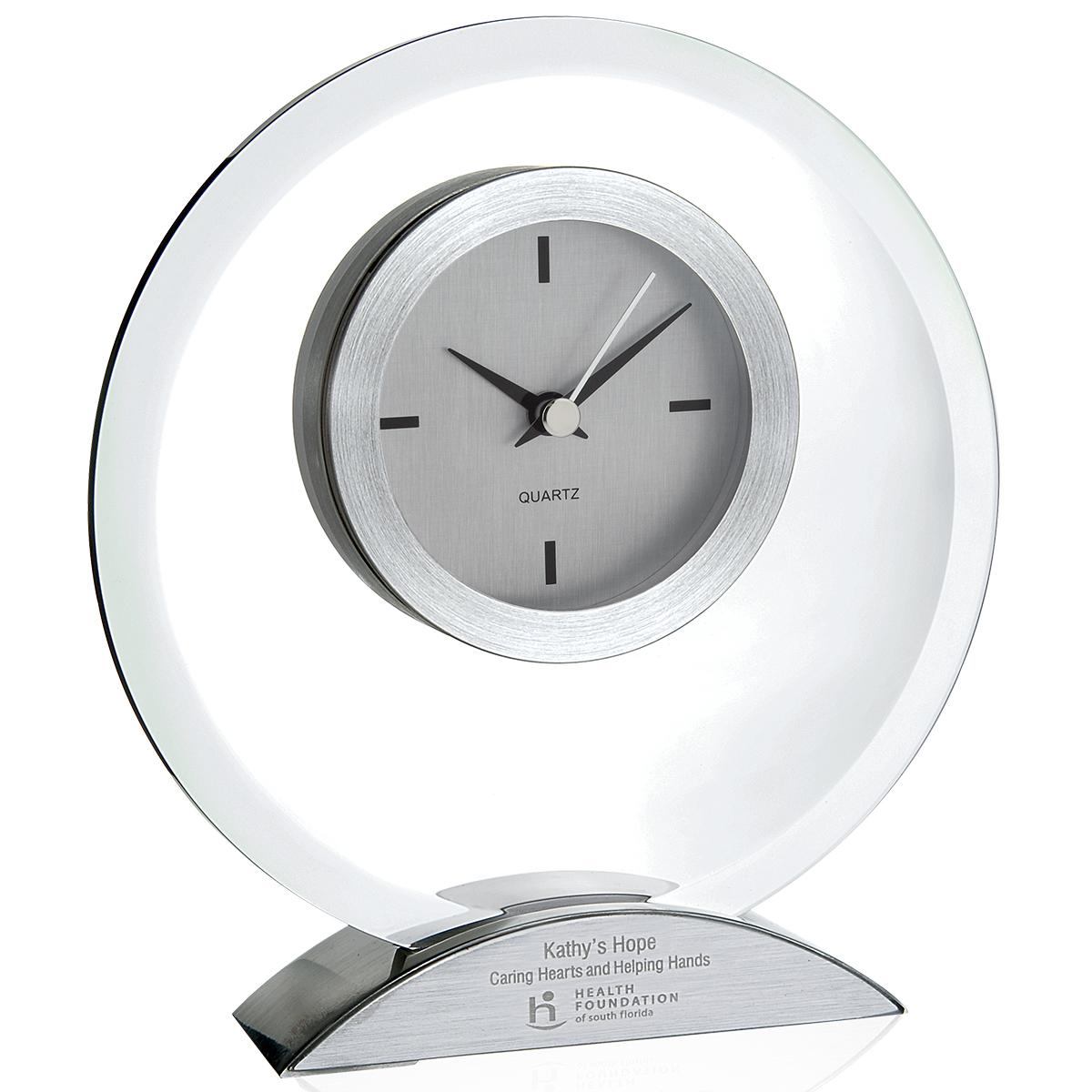 Jaffa Stimulus Clock - Laser Engraved Imprint, #36613