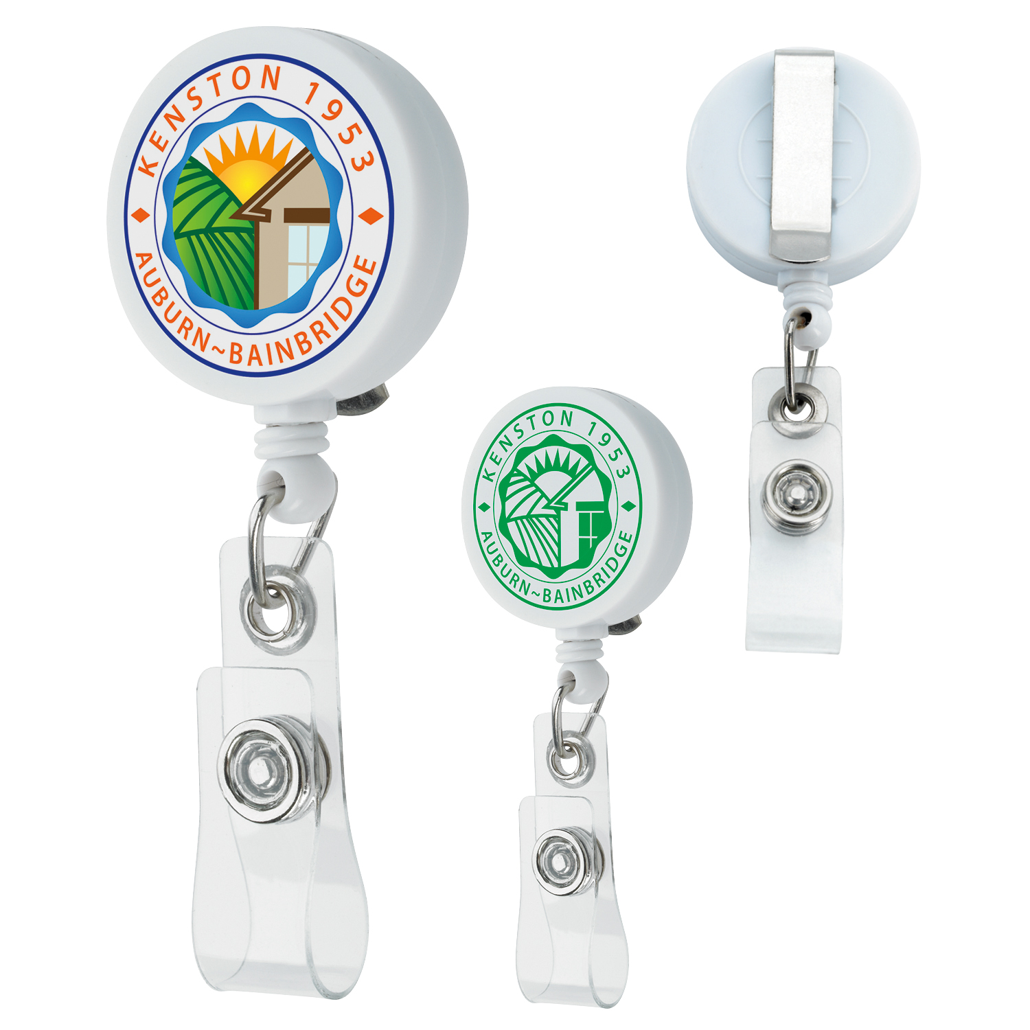 Unlimited Badge Holder - 1 Colour Imprint