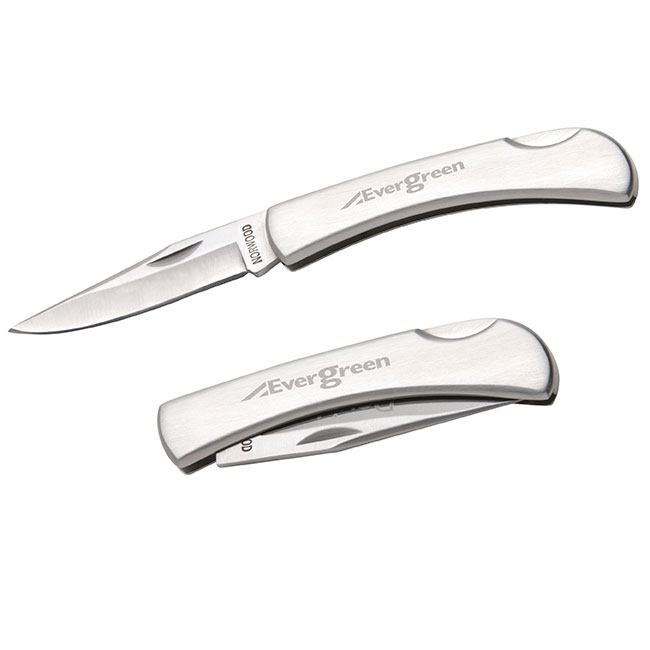 Consort Pocket Knife - Laser Engraved Imprint, #20207
