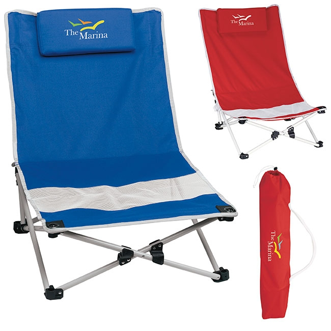 Mesh Beach Chair - 1 Colour Imprint, #45144