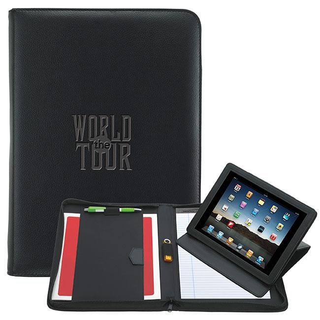 E-Padfolio Tablet Holder - Debossed Imprint
