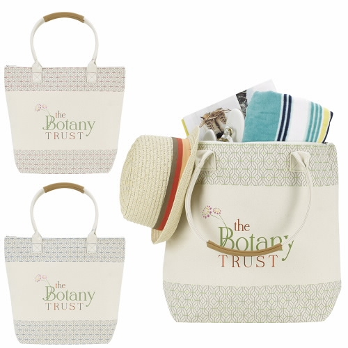 Atchison Countryside Cotton Tote Bag - 1 Colour Imprint