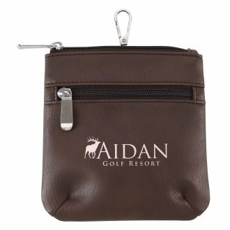 Throw Back Golf Pouch - 1 Colour Imprint